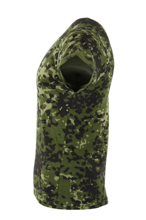Camouflage t shirt, dansk M84 camouflage