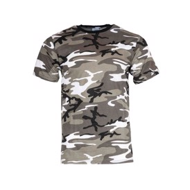 Urban camouflage t-shirt