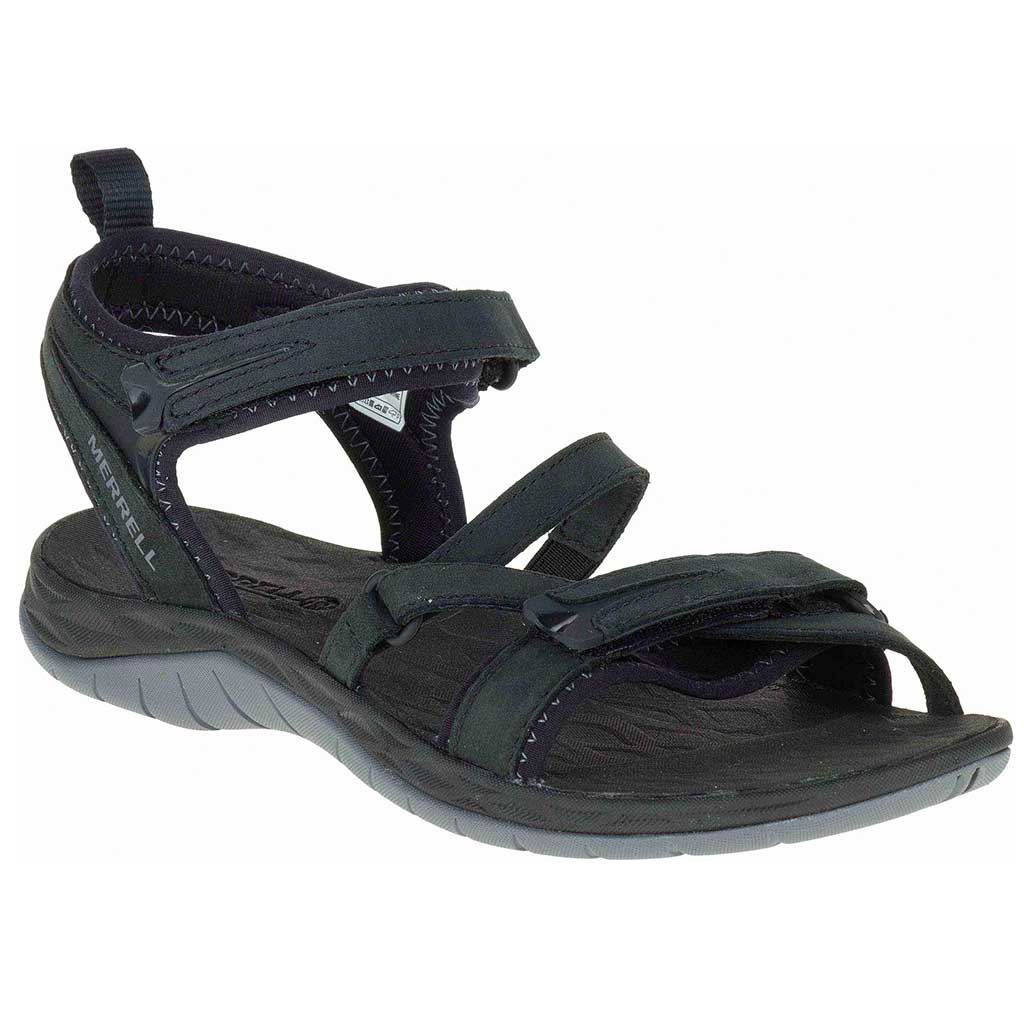 6449f16d78c Køb Merrell Siren Strap Q2 sort sandal til damer   417.dk