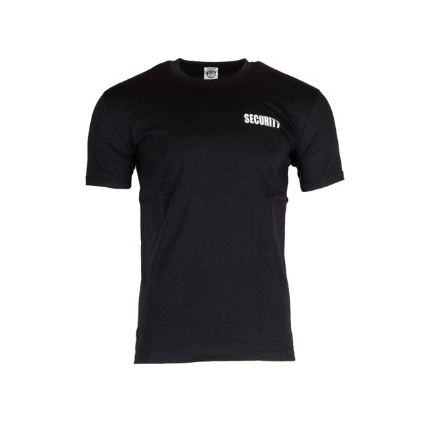 T-shirt med SECURITY-print