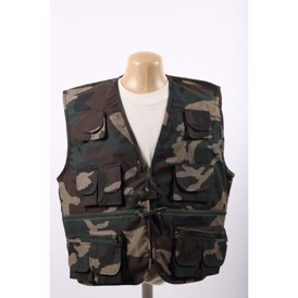 tropical vest woodland camouflage