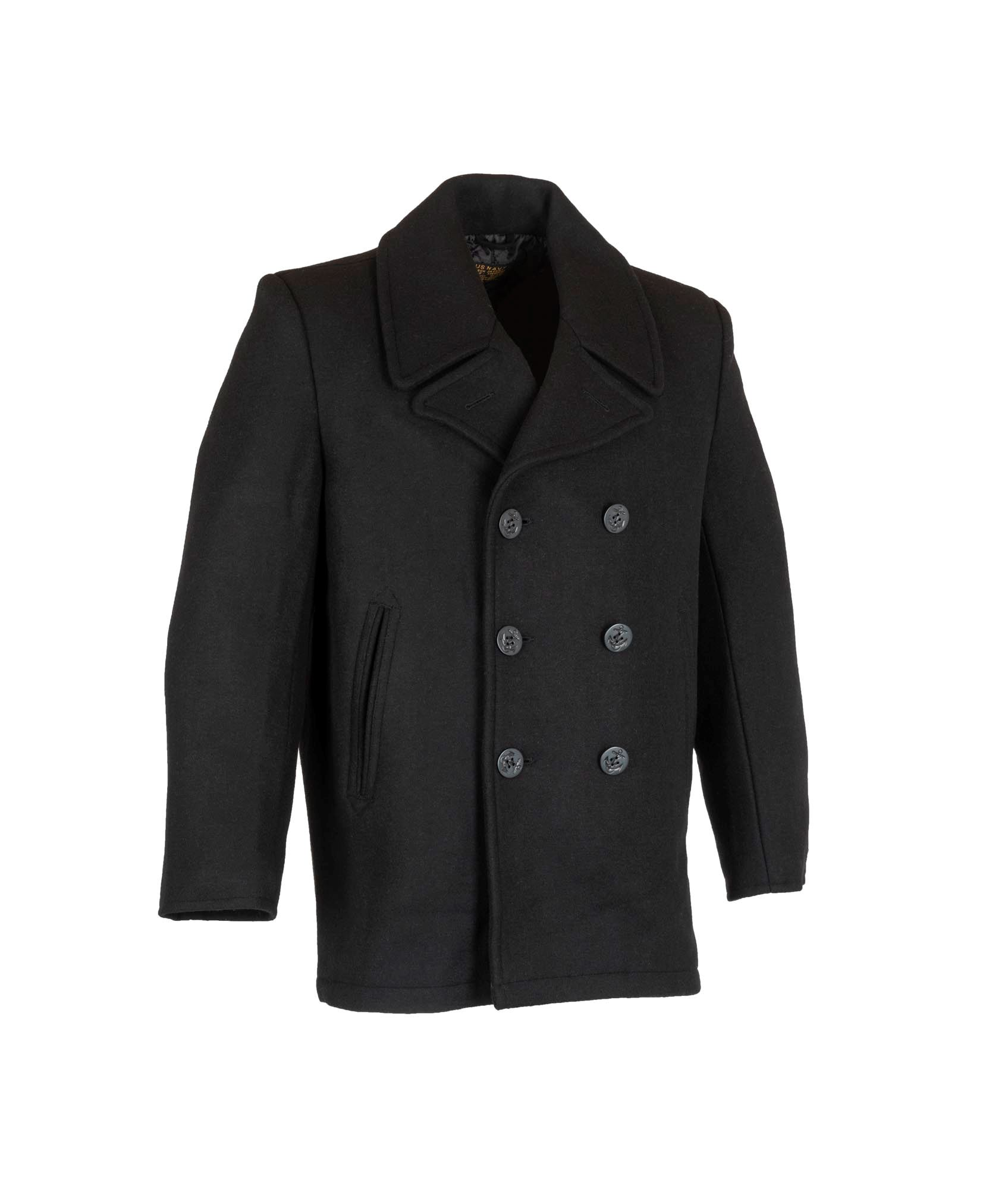 257a0c9ccaa Marine pjækkert i sort uld. Køb pjækkerter hos 417.dk
