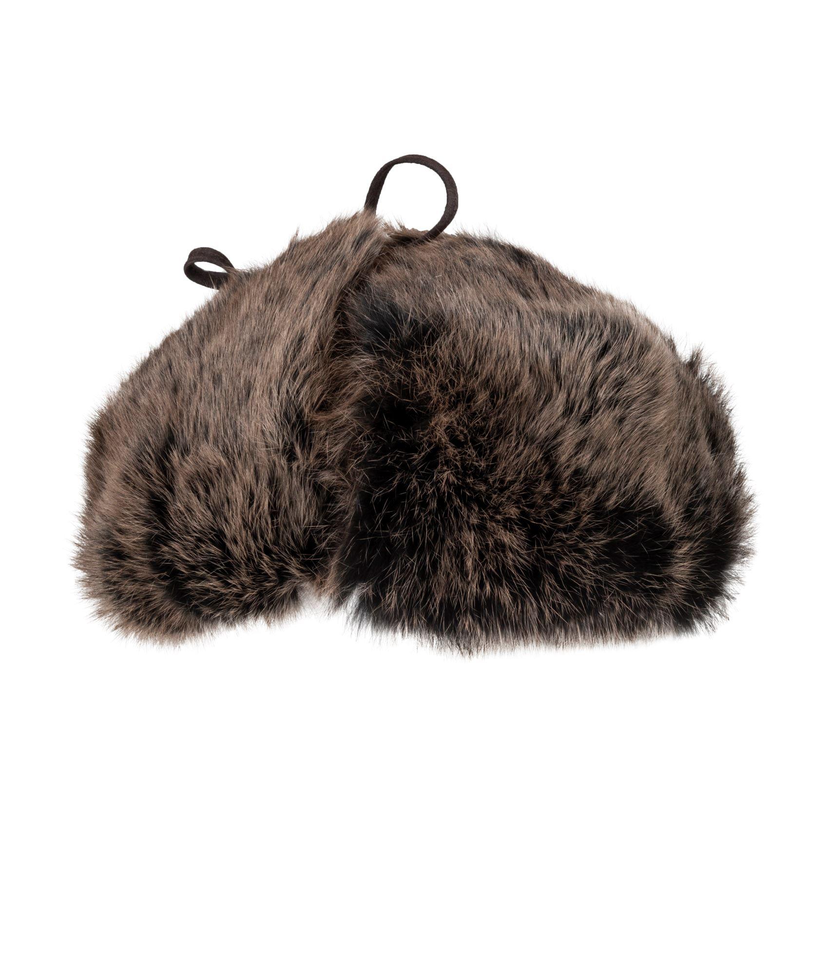 2df9a9933d8 Pels hue fra MJM. Køb varme pelshuer og handsker i 417.dk