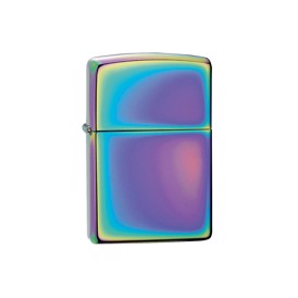 Zippo multi color lighter i krom