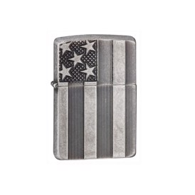 Zippo lighter US Flag Armor case