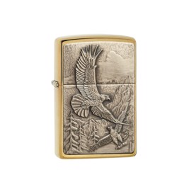Zippo Where Eagles Dare lighter i messing